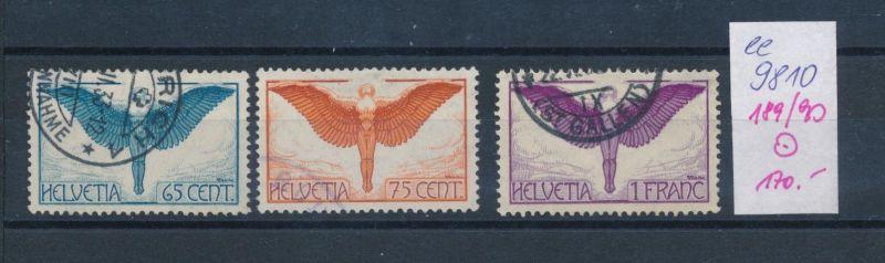 Schweiz  Nr.  188-90   o  (ee9810  ) siehe scan