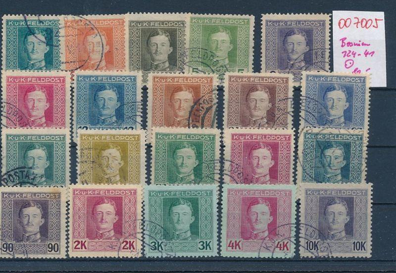 Österreich Bosnien Nr.124-41   (oo7005  ) siehe scan