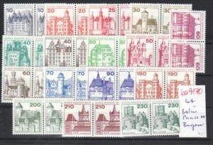 Berlin Lot Burgen **  Paare   -DISCOUNT  - (ba 9170 ) siehe scan  !