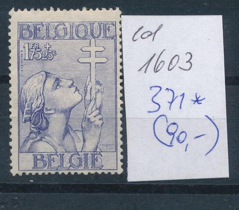 Belgien Nr. 371 *    (ed1603  ) siehe scan