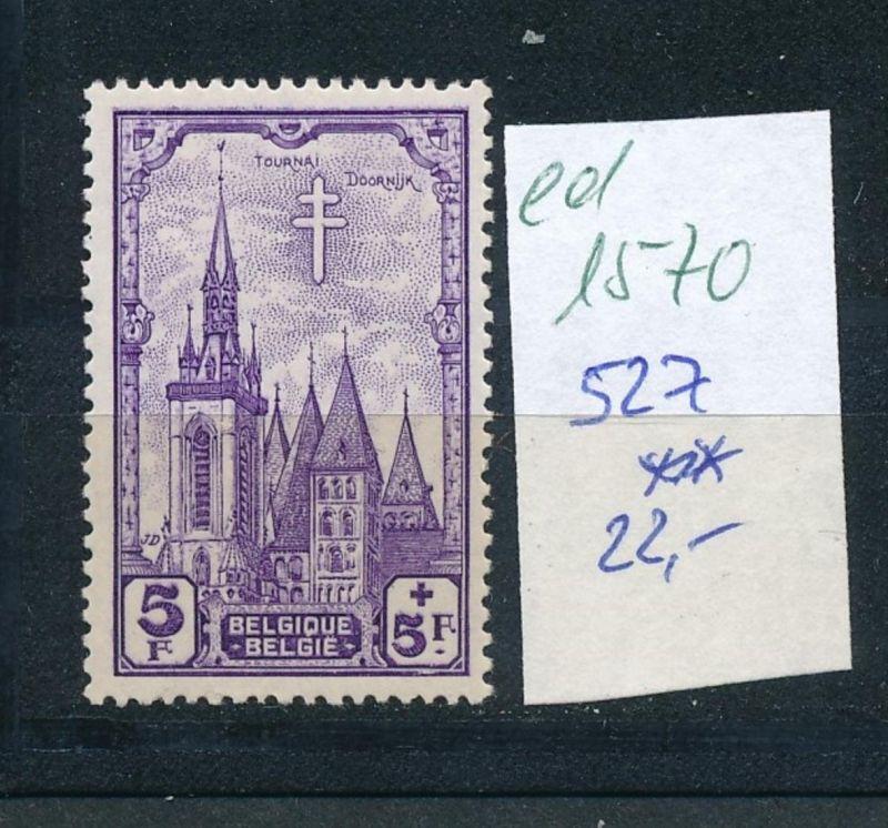 Belgien Nr. 527  **  (ed1570  ) siehe scan