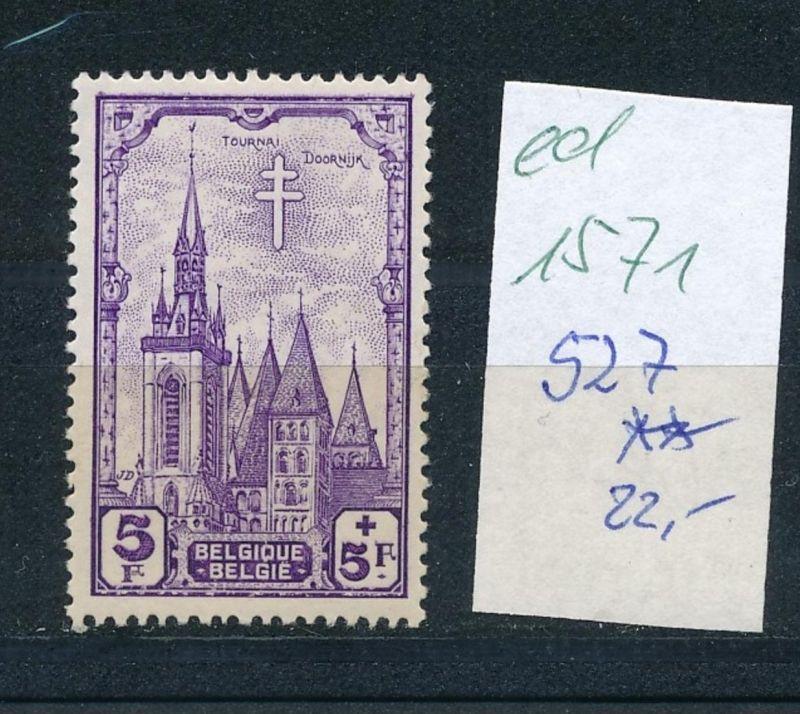 Belgien Nr. 527  **  (ed1571  ) siehe scan