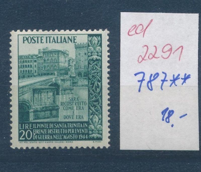 Italien Nr. 787    **     (ed2291   ) siehe scan 0