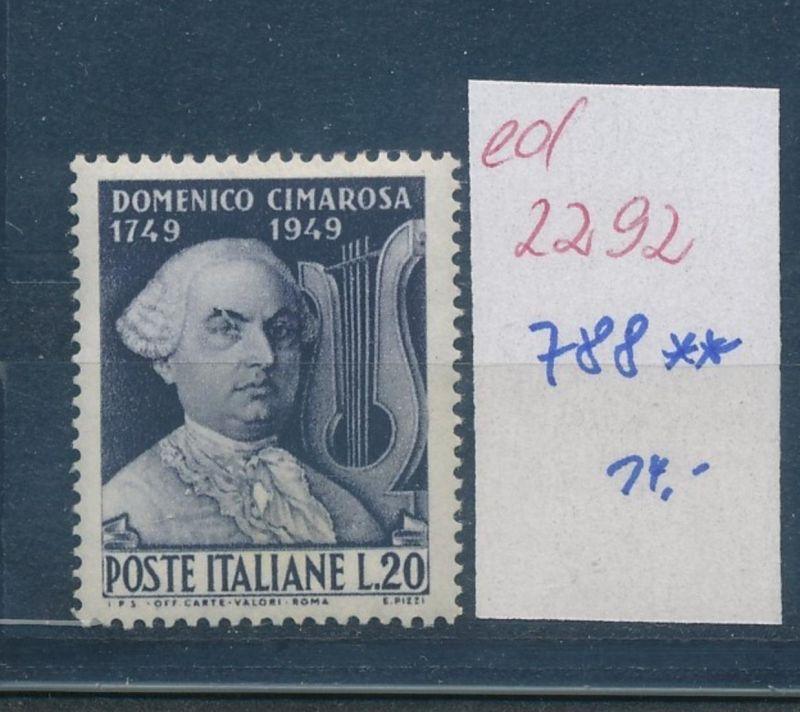 Italien Nr. 788    **     (ed2292   ) siehe scan 0