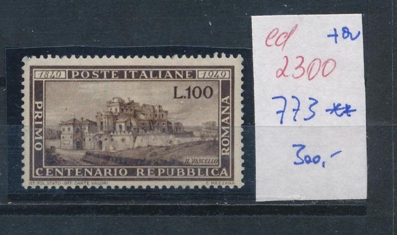 Italien Nr. 773  **     (ed2300   ) siehe scan 0