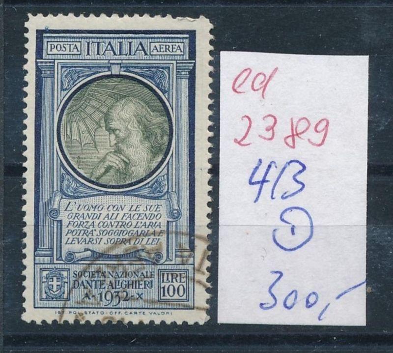 Italien Nr. 413  o    (ed2389   ) siehe scan 0