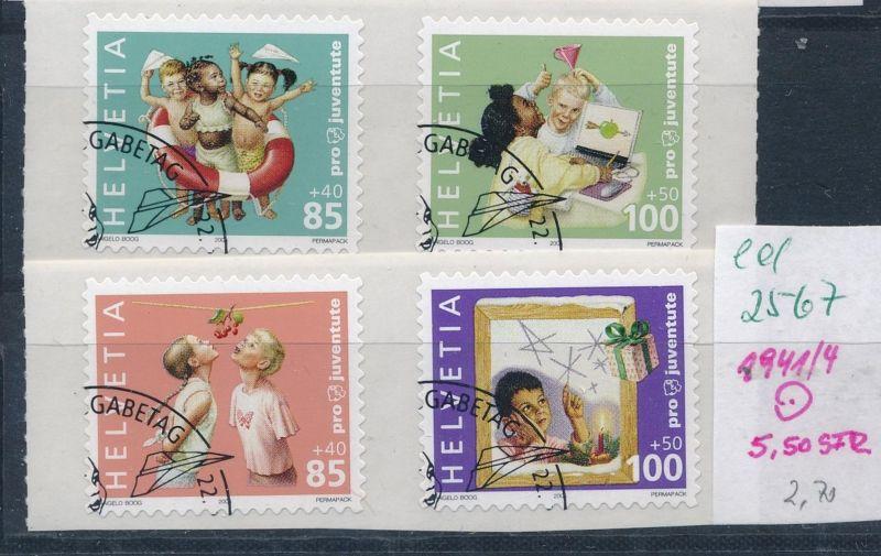 Schweiz Nr. 1941-4   o    (ed2567  ) siehe scan
