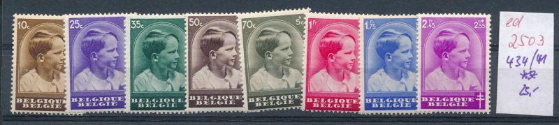 Belgien Nr. 434-41 **   (ed2503  ) siehe scan