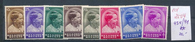 Belgien Nr. 434-41 **   (ed2504  ) siehe scan