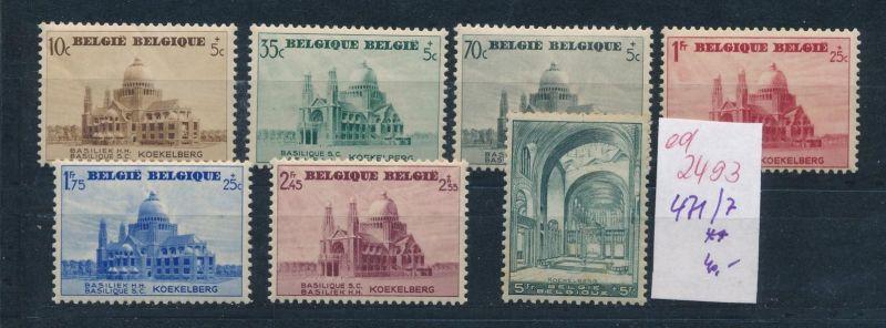 Belgien Nr. 471-77 **   (ed2493  ) siehe scan