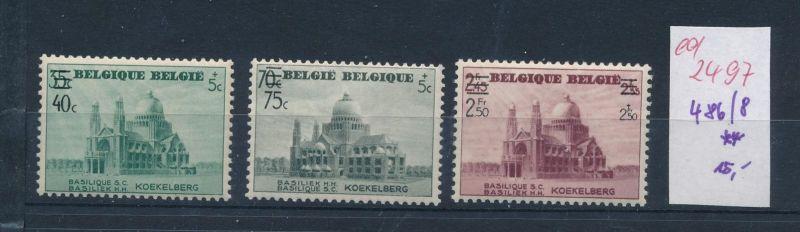 Belgien Nr. 486-88  **   (ed2497  ) siehe scan