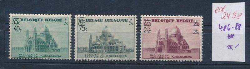 Belgien Nr. 486-88  **   (ed2498  ) siehe scan