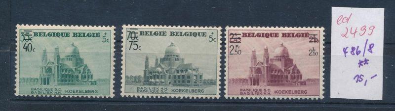 Belgien Nr. 486-88  **   (ed2499  ) siehe scan