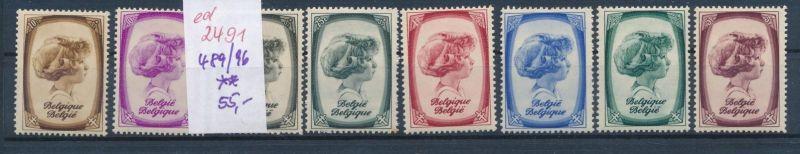 Belgien Nr. 489-96  **   (ed2491  ) siehe scan