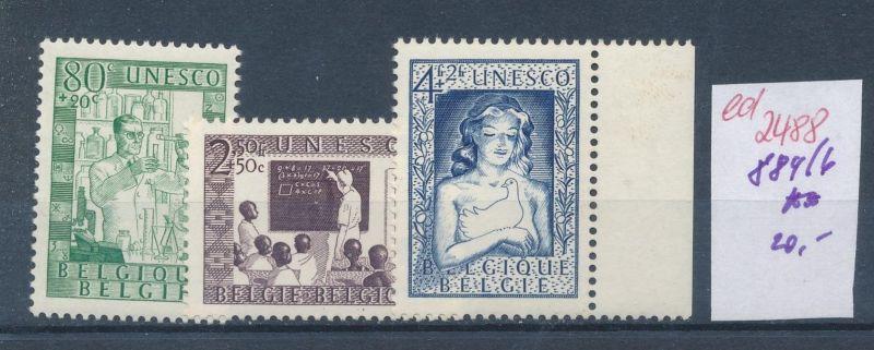 Belgien Nr. 884-6  **   (ed2488  ) siehe scan