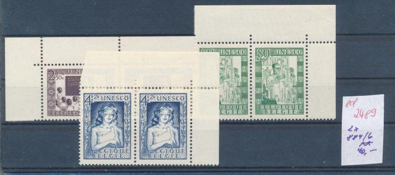 Belgien Nr. 2x 884-6  **   (ed2489  ) siehe scan
