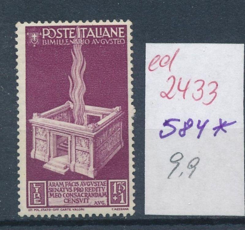 Italien Nr. 584   **   (ed2433  ) siehe scan