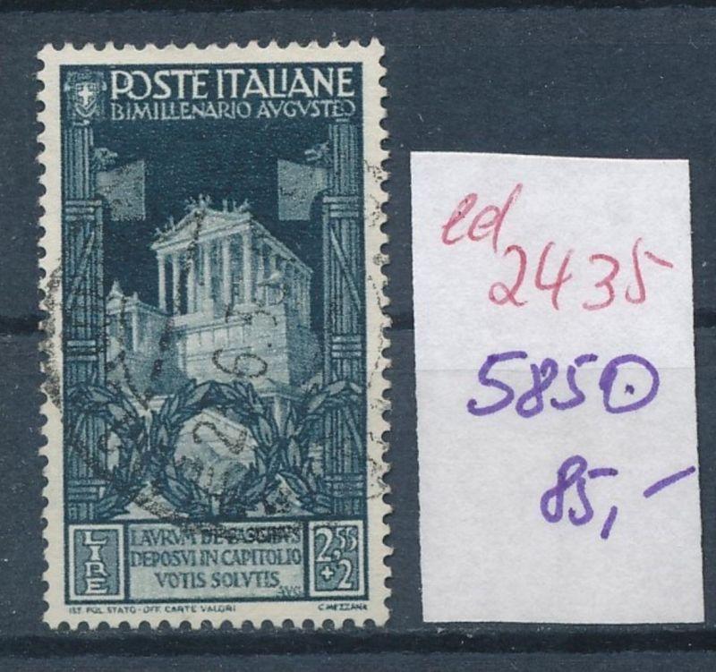 Italien Nr. 585 o    (ed2435  ) siehe scan