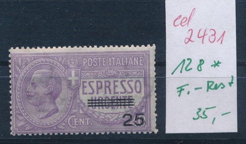 Italien Nr. 128 *    (ed2431  ) siehe scan
