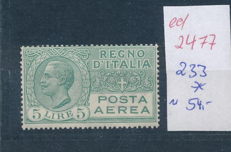 Italien Nr. 233 *   (ed2477  ) siehe scan