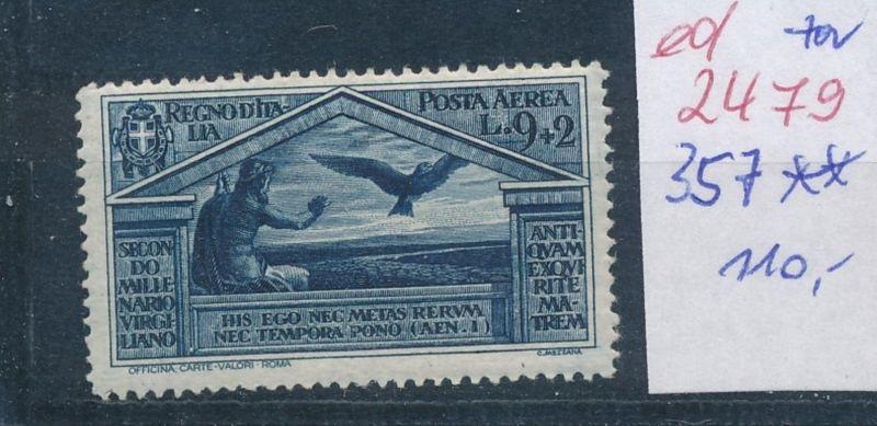 Italien Nr. 357  **   (ed2479  ) siehe scan