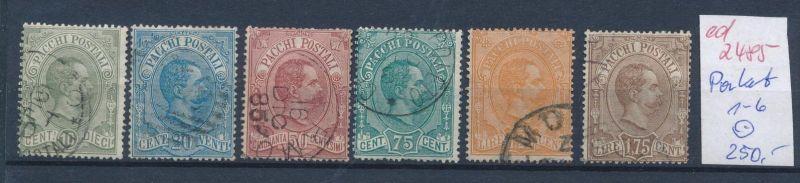 Italien Nr. Paket  1-6  o   (ed2485  ) siehe scan