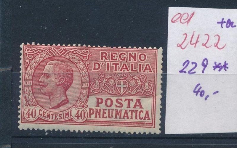 Italien Nr. 229 **   (ed2422  ) siehe scan