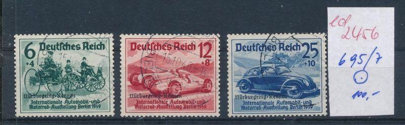 D.-Reich Nr.  695-7    o  (ed2456  ) siehe scan