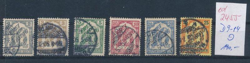D.-Reich Nr.  D 9-14    o  (ed2455  ) siehe scan
