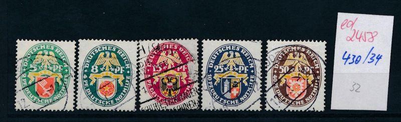 D.-Reich Nr.  430-4  +  (ed2458  ) siehe scan
