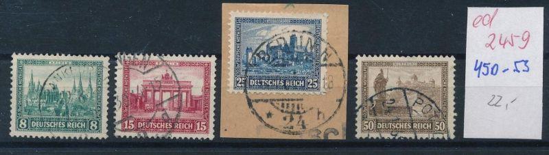 D.-Reich Nr.  450-53 o  (ed2459  ) siehe scan