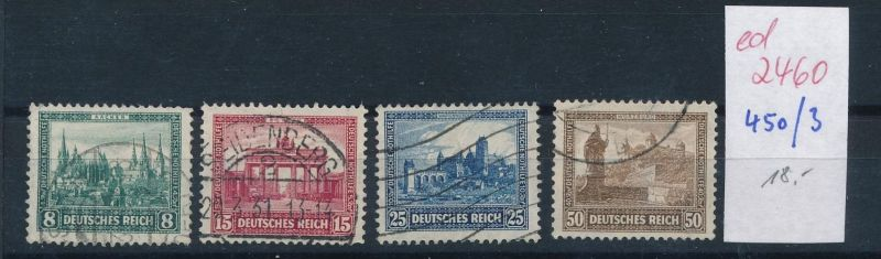 D.-Reich Nr.  450-53 o  (ed2460  ) siehe scan