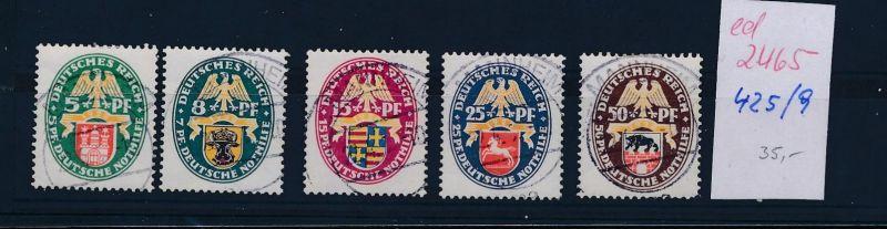 D.-Reich Nr.  425-9  o  (ed2465  ) siehe scan