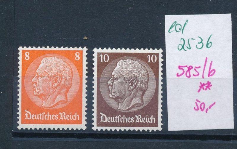D.-Reich Nr.  485-6  **  (ed2536  ) siehe scan