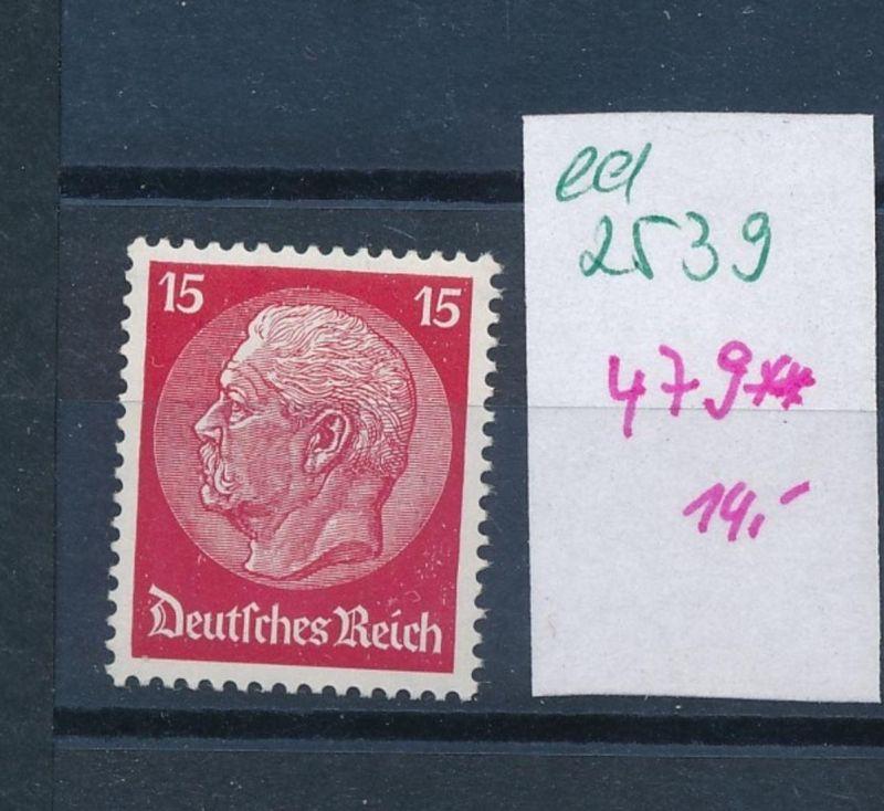 D.-Reich Nr.  479   **  (ed2539  ) siehe scan