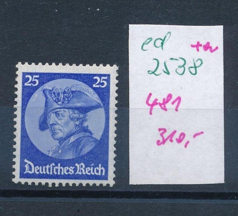D.-Reich Nr.  481    (ed2538  ) siehe scan