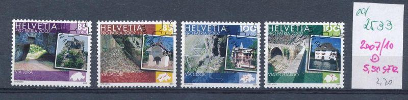 Schweiz   Nr. 2007-10 o    (ed2533  ) siehe scan