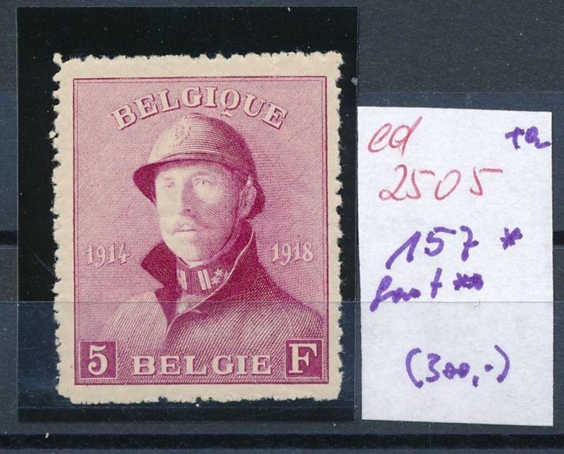 Belgien Nr. 157    (ed2505  ) siehe scan