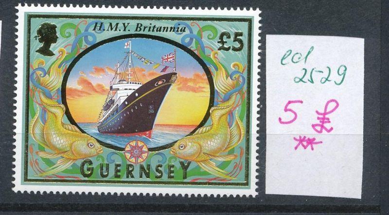 Guernsey Schiff 5 Pound ** (ed2529  ) siehe scan