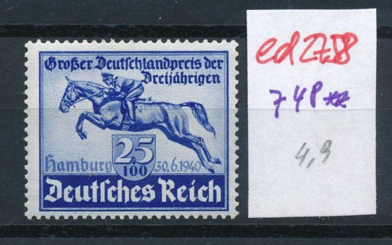 D.-Reich Nr. 748    **   (ed2758  ) siehe scan