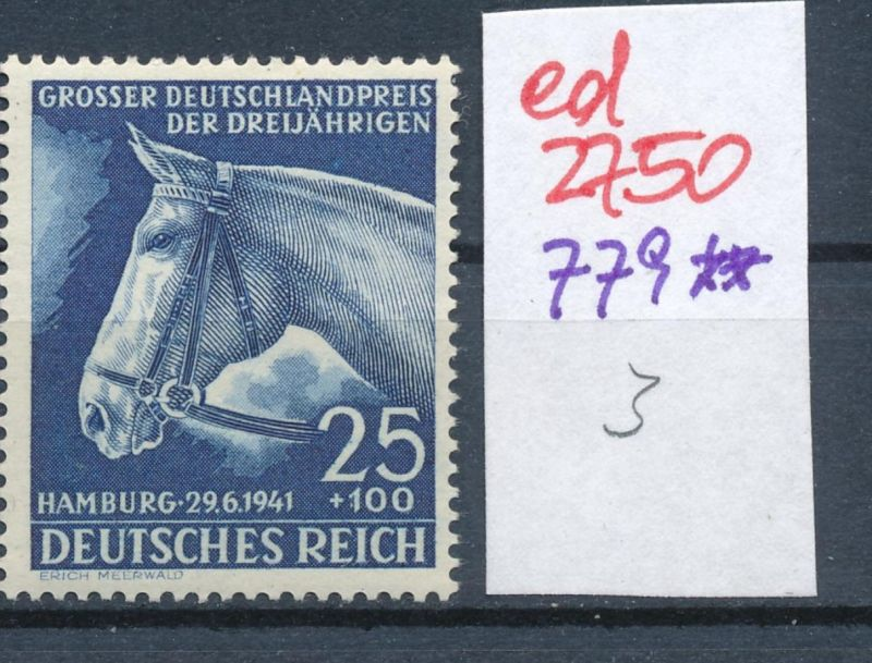 D.-Reich Nr. 779     **   (ed2750  ) siehe scan