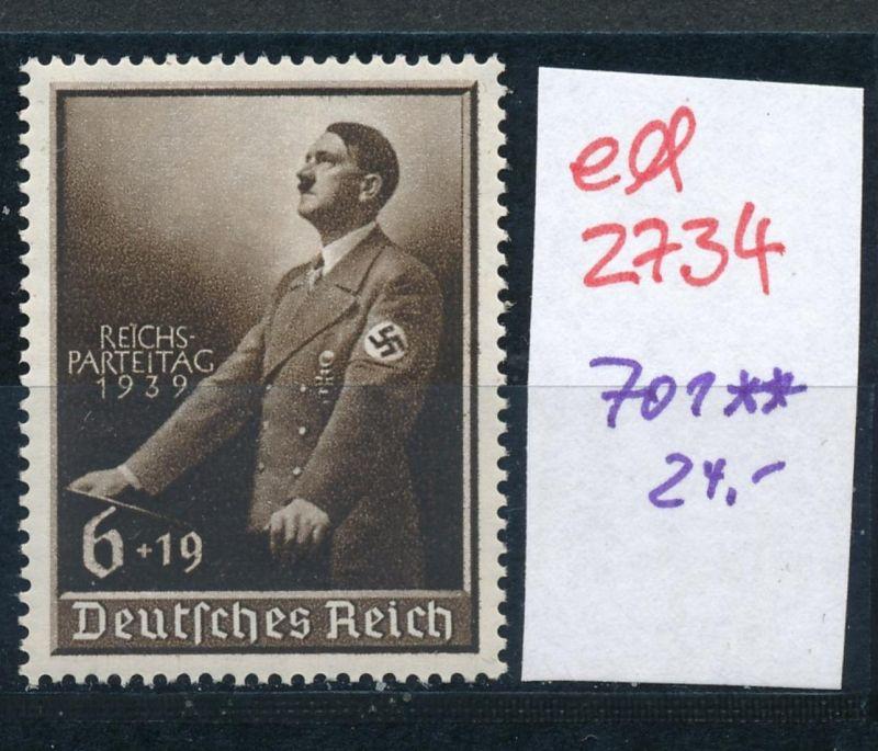 D.-Reich Nr. 701   **   (ed2734  ) siehe scan