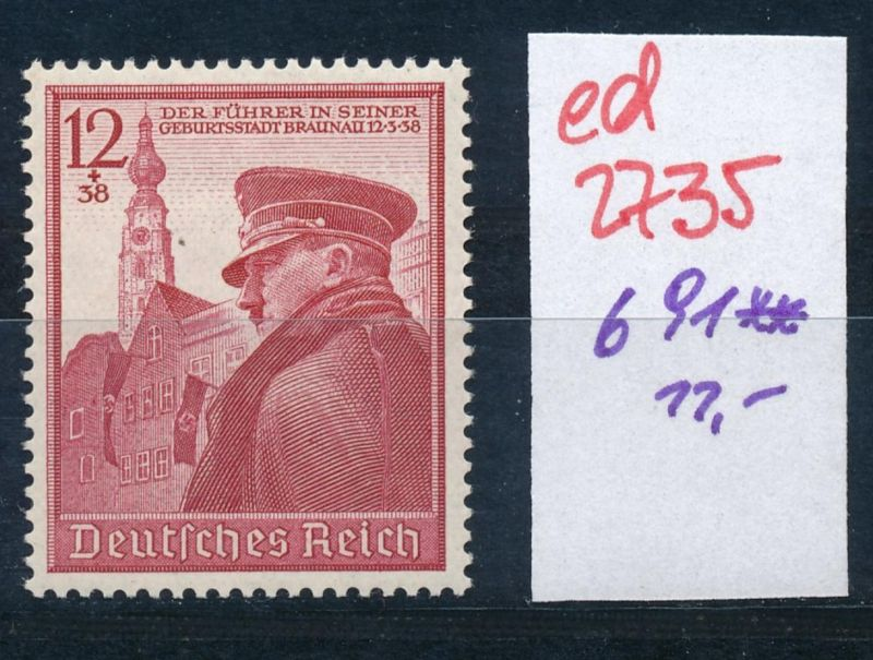 D.-Reich Nr. 691   **   (ed2735  ) siehe scan