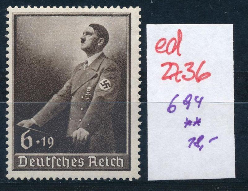 D.-Reich Nr. 694   **   (ed2736  ) siehe scan