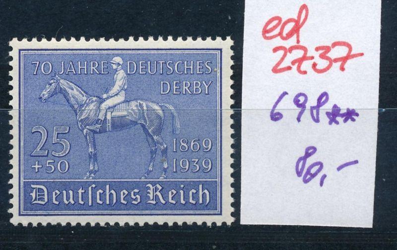 D.-Reich Nr. 698   **   (ed2737  ) siehe scan