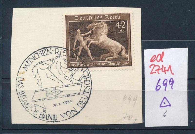 D.-Reich Nr. 699  o   (ed2741  ) siehe scan