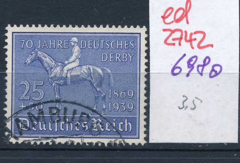 D.-Reich Nr. 698  o   (ed2742  ) siehe scan