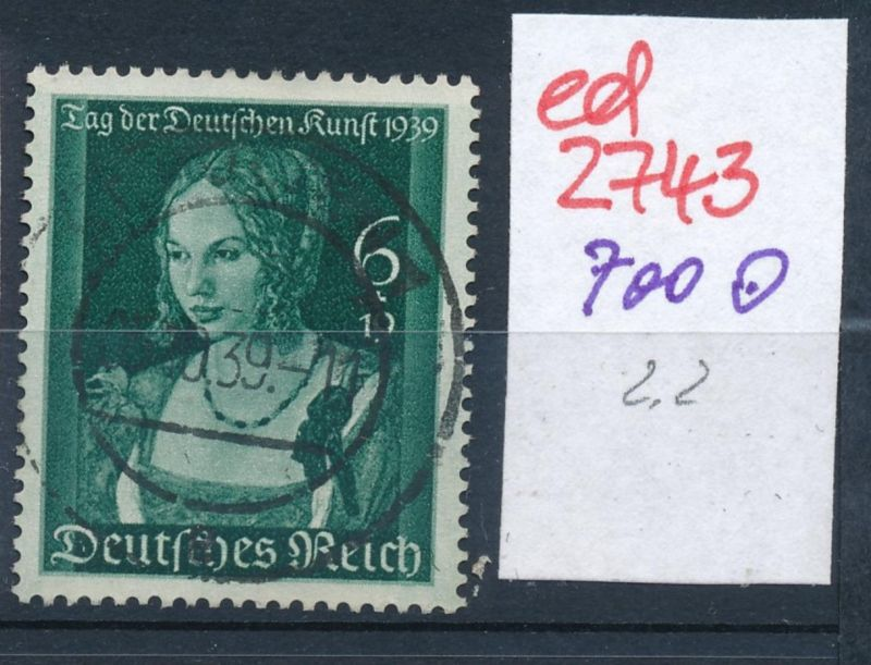 D.-Reich Nr. 700   o   (ed2743  ) siehe scan