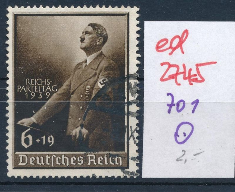 D.-Reich Nr. 701   o   (ed2745  ) siehe scan