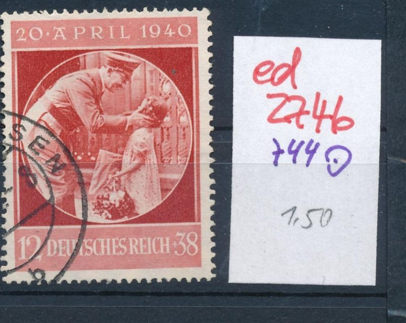 D.-Reich Nr. 744   o   (ed2746  ) siehe scan